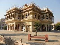 Παλάτι πόλεων, Jantar Mantar, Αλβέρτος Hall, Jaipur, Ινδία στοκ φωτογραφία με δικαίωμα ελεύθερης χρήσης
