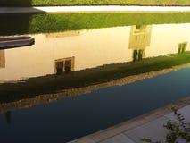 Παλάτι Acequia του Generalife, Γρανάδα, Γρανάδα, Ανδαλουσία στοκ εικόνα