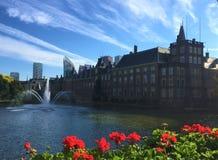 Παλάτι Binnenhof στη Χάγη στοκ φωτογραφία με δικαίωμα ελεύθερης χρήσης