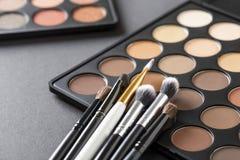 Παλέτες σκιάς ματιών στοκ εικόνες με δικαίωμα ελεύθερης χρήσης