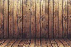 Παλαιά ξύλινα υπόβαθρο και πάτωμα στο εκλεκτής ποιότητας ύφος, μμένη ξύλινη σύσταση, υπόβαθρο για τη διαφήμιση των προϊόντων στοκ εικόνα