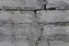 Παλαιός άσπρος τουβλότοιχος στοκ φωτογραφία με δικαίωμα ελεύθερης χρήσης
