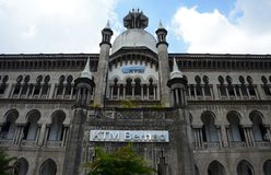 παλαιός σιδηροδρομικός σταθμός της Κουάλα Λουμπούρ Μαλαισία στοκ εικόνες με δικαίωμα ελεύθερης χρήσης
