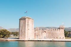 Παλαιό μεσαιωνικό φρούριο Trogir Kamerlengo Castle στοκ φωτογραφίες με δικαίωμα ελεύθερης χρήσης