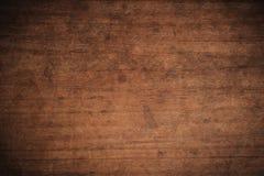 Παλαιό σκοτεινό κατασκευασμένο ξύλινο υπόβαθρο grunge, η επιφάνεια της παλαιάς καφετιάς ξύλινης σύστασης, καφετιά teak τοπ άποψης στοκ εικόνες