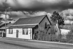 Παλαιό σπίτι με τη σοφίτα σε Sutherland μονοχρωματικός στοκ φωτογραφίες με δικαίωμα ελεύθερης χρήσης