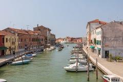 Πανοραμική άποψη του νησιού Murano στοκ εικόνες με δικαίωμα ελεύθερης χρήσης