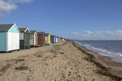 Παραλία κόλπων Thorpe, Essex, Αγγλία στοκ εικόνα με δικαίωμα ελεύθερης χρήσης