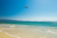 Παραλία Bucerias και seascape, Jalisco, Μεξικό στοκ εικόνες