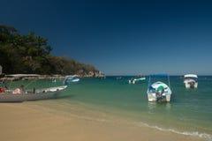 Παραλία Mismaloya σε Jalisco Μεξικό στοκ φωτογραφίες