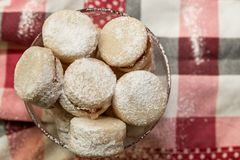 Παραδοσιακά σερβικά μπισκότα βανίλιας στοκ φωτογραφία με δικαίωμα ελεύθερης χρήσης