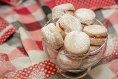 Παραδοσιακά σερβικά μπισκότα βανίλιας στοκ φωτογραφία