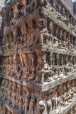 Πεζούλι των ανακουφίσεων Bas βασιλιάδων λεπρών στοκ φωτογραφία