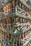 Πεζούλι των ανακουφίσεων Bas βασιλιάδων λεπρών στοκ φωτογραφία με δικαίωμα ελεύθερης χρήσης
