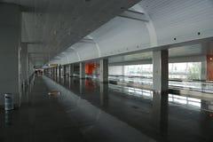 Περιμένοντας διάστημα στο τελικό Δ στο διεθνή αερολιμένα Borispol, Ουκρανία στοκ εικόνες με δικαίωμα ελεύθερης χρήσης