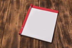 Περιοδικό ή κατάλογος προτύπων στον ξύλινο πίνακα στοκ εικόνες