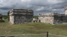 Περιτοιχισμένη πόλη του των Μάγια πολιτισμού στο Μεξικό στοκ εικόνα με δικαίωμα ελεύθερης χρήσης
