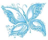 Πεταλούδα παφλασμών νερού απεικόνιση αποθεμάτων