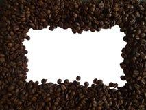 Πλαισιωμένα φασόλια καφέ στοκ φωτογραφία με δικαίωμα ελεύθερης χρήσης