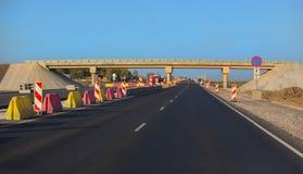 Πολλών δρόμων κατασκευή εθνικών οδών στοκ φωτογραφία με δικαίωμα ελεύθερης χρήσης