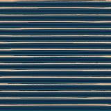 Πολυτελές χρυσό πλούσιο μπλε ριγωτό οριζόντιο γεωμετρικό σχέδιο άνευ ραφής διάνυσμα προτύπ&omeg Τελειοποιήστε για τη μόδα ατόμων απεικόνιση αποθεμάτων