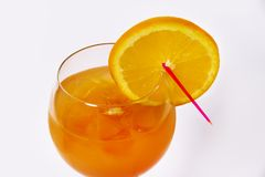 Πορτοκαλί κοκτέιλ στοκ εικόνες με δικαίωμα ελεύθερης χρήσης
