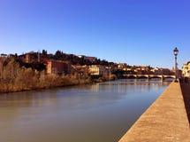 ποταμός της Φλωρεντίας arno στοκ φωτογραφία με δικαίωμα ελεύθερης χρήσης