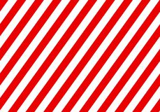 Προειδοποιώντας κόκκινο σημάδι με τις άσπρες ορθογώνιες γραμμές Αφηρημένο σκηνικό με τις διαγώνιες άσπρες και κόκκινες λουρίδες Υ στοκ εικόνα