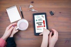 Προστατεύστε την ταυτότητά σας στοκ φωτογραφία με δικαίωμα ελεύθερης χρήσης