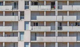 Πρόσοψη σπιτιών κατοικιών στοκ εικόνες