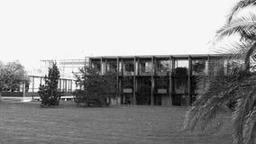 Πρόσοψη του ομοσπονδιακού Συνταγματικού Δικαστηρίου στην Καρλσρούη απόθεμα βίντεο