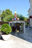 Τhe Church of Saint John the Russian (Agios Ioannis O Rossos)  Royalty Free Stock Images