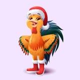 ï ¿ ½ ock, σύμβολο του νέου έτους του 2017 στο κινεζικό ημερολόγιο Στοκ Φωτογραφία