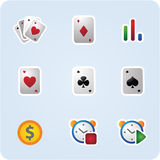 Сasino icons Stock Photos