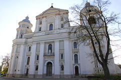Сatholic Cathedral in Lutsk, Ukraine Stock Photography