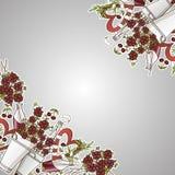 Сherry bouquet Royalty Free Stock Photos
