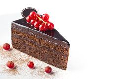 Сhocolate cake Royalty Free Stock Images