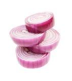 Ð¡hopped red onion Stock Photos