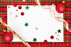 Сhristmas greeting card Stock Images