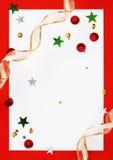 Сhristmas greeting card Stock Image