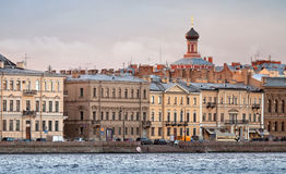 Сity ​​skyline. St.Petersburg, Russia Royalty Free Stock Photo