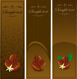 Сoffee banners. Stock Images