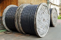 Сoil cable Stock Photo