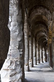 Сoliseum in Nimes Royalty Free Stock Image