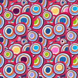 Сolorful retro pattern Royalty Free Stock Image