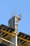 Сoncrete formwork and floor beams Royalty Free Stock Photo