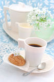 Сup of morning coffee Royalty Free Stock Photography