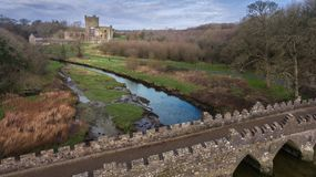 аббатство tintern графство Wexford Ирландия стоковое изображение