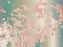 Абстрактная бледная текстура жемчуга со случайно разбрасываемыми shapeless элементами иллюстрация вектора