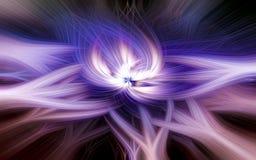 Абстрактная яркая предпосылка со световым эффектом для творческого дизайна бесплатная иллюстрация